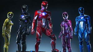 Power Rangers nova armadura